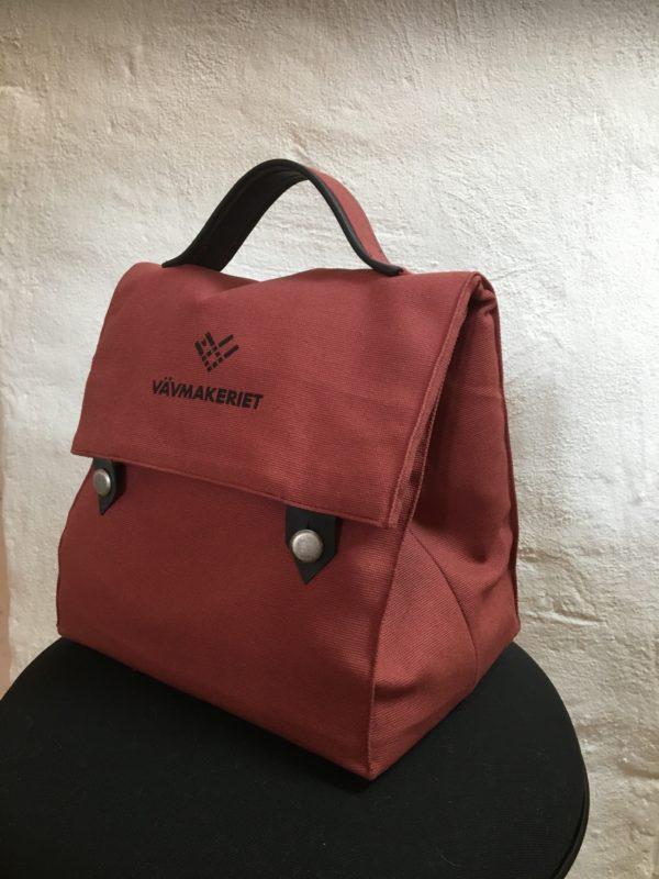Lunchbag röd