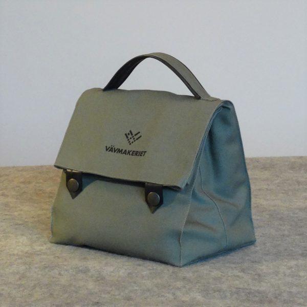 Plastfri lunchbag, fodrad med svensk ull